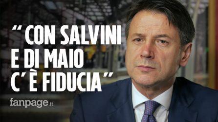 """Giuseppe Conte: """"Con Salvini e Di Maio stiamo lavorando a nuove proposte per contratto di governo"""""""