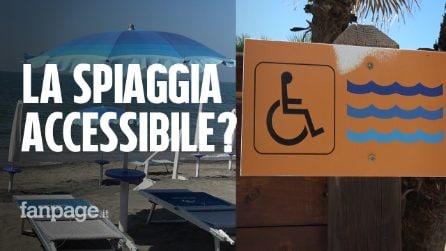 Ostia, gli stabilimenti balneari sono accessibili per i disabili? Ecco cosa abbiamo trovato