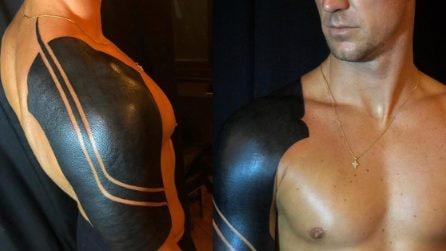 """""""Non piace a tutti ma rappresenta me"""", Joe Hart mostra il suo particolare tatuaggio"""