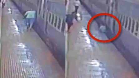 Finisce sotto il treno ma quello che aveva tentato di fare è inspiegabile