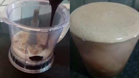Bevanda ghiacciata caffè e cioccolato: pronta in 5 minuti e golosissima