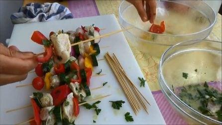 Spiedini di pollo e verdure: l'idea perfetta per le tue grigliate