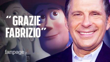 """Toy Story 4 dedicato a Fabrizio Frizzi, il ricordo: """"Grazie Fabrizio. Era l'amico di tutti"""""""