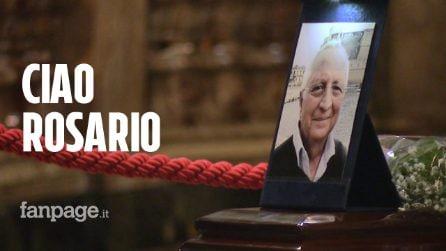 Napoli, via Duomo in lacrime per l'addio a Rosario Padolino, ucciso dal crollo dei calcinacci