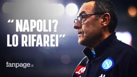 """Juve, Sarri: """"Non ho mai recitato. Il Napoli? un viaggio stupendo. Lo rifarei"""""""