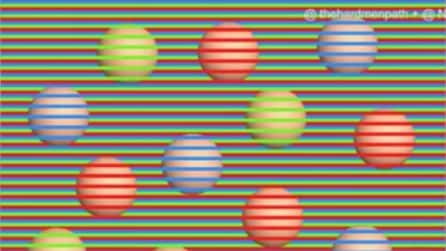 Di che colore sono queste palline? L' illusione ottica lascia tutti senza parole