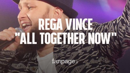 "Gregorio Rega è il vincitore di ""All Together Now"": seconda Veronica Liberati, terzo Dennis Fantina"