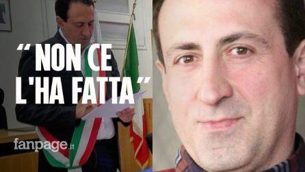 Morto il sindaco eroe Emanuele Crestini dopo l'esplosione a Rocca di Papa
