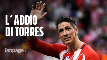 """Fernando Torres annuncia il ritiro: """"È arrivato il momento di fermarsi"""""""