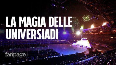 Universiadi 2019, la magia della Cerimonia di apertura