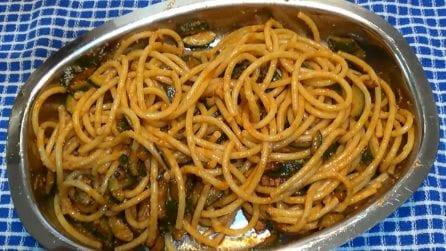 Finta amatriciana di zucchine: con questo piatto il successo è assicurato