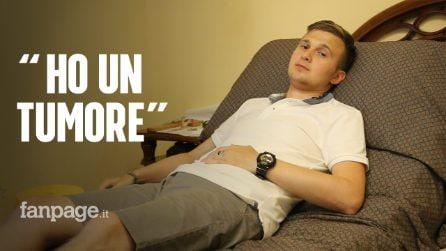 """Paolo, 27 anni, ha un tumore nella gabbia toracica: """"È molto raro, l'unica speranza è negli Usa"""""""