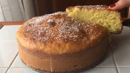 Pan d'arancio al cocco senza burro: soffice e gustoso