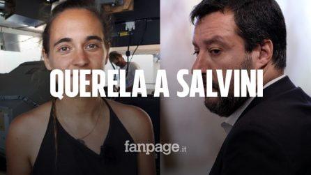"""Sea Watch, Carola Rackete querela Matteo Salvini. Il vicepremier: """"Non mi fa paura"""""""