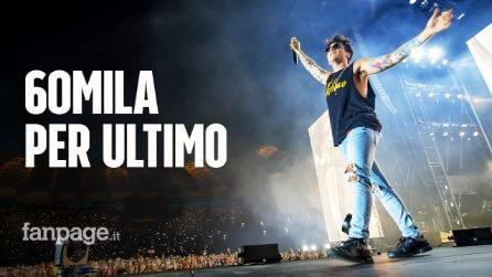 Ultimo re dell'Olimpico: record di 60mila spettatori ed emozioni per la sua poesia a Roma