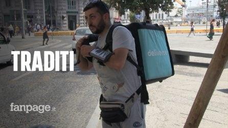 """Napoli, i riders contro il Comune: """"Permette alle multinazionali di lavarsi la faccia"""""""