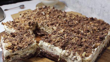 Semifreddo con biscotti e crema: un dessert da leccarsi i baffi