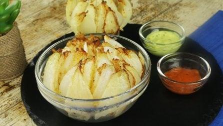 Cipolla fritta: gustosa e perfetta per un antipasto sfizioso e saporito!