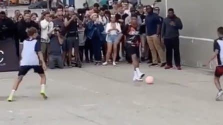 Kylian Mbappé fenomeno anche in strada: il campione francese dà spettacolo