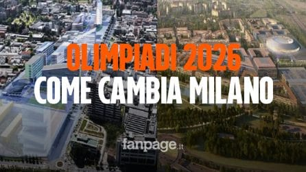 Olimpiadi 2026: dal Pala-Italia Santa Giulia al Villaggio olimpico, ecco come cambierà Milano