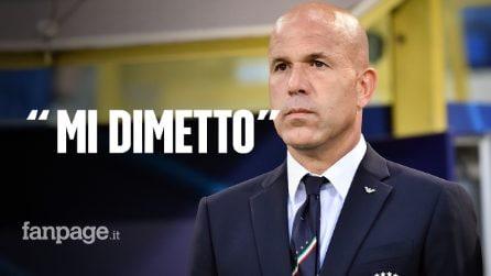 """Di Biagio lascia la nazionale di calcio Under 21: """"Mi dimetto da Ct, ma non è stato un fallimento"""""""