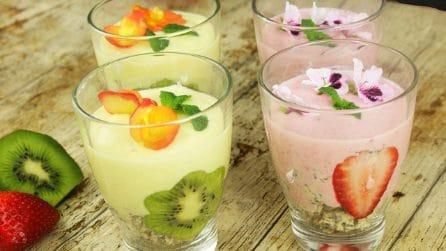 Pudding con semi di chia e frutta: colorati, freschi e pieni di sapore!