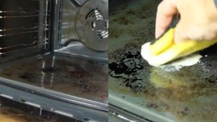 Come pulire il forno incrostato: il metodo naturale ed efficace