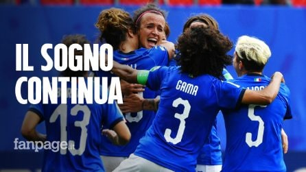 Italia femminile nella storia: le azzurre battono la Cina e volano ai quarti del Mondiale