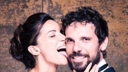 3 anni di matrimonio per Andrea Delogu e Francesco Montanari, il video ricordo sulle note di Ambra