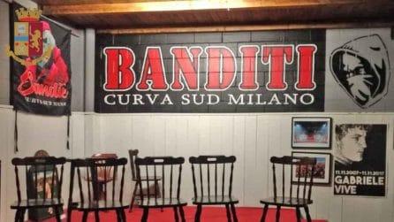 Sequestrati beni per un milione a Luca Lucci: capo ultrà del Milan fotografato con Salvini
