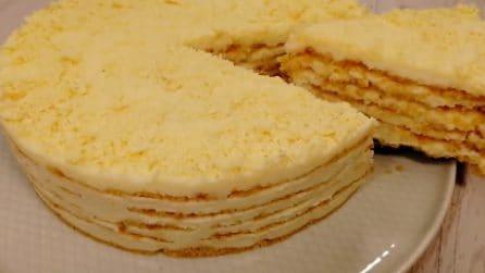 Sbriciolata fredda: un dessert cremoso e senza cottura