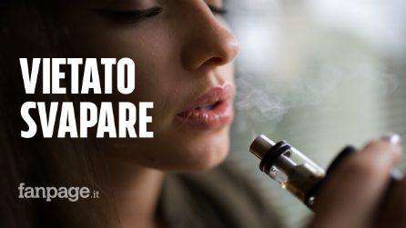 """Sigarette elettroniche al bando: ecco la città che vieta la vendita dei prodotti per """"svapare"""""""