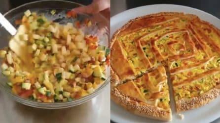 Torta salata di verdure: un piatto rustico pieno di gusto