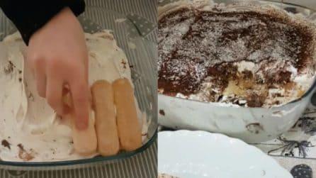 Tiramisù cocco e cioccolato: il dolce senza cottura che conquisterà tutti