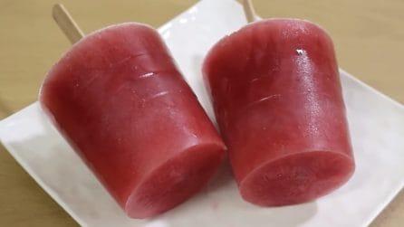 Ghiaccioli all'anguria: lo snack super fresco e goloso
