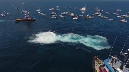 Affondata la nave che trasportava cocaina