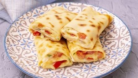 Rotolini di crepes e uova: filanti e cremosi, perfetti per ogni occasione!
