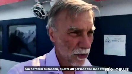 """Sea Watch, Delrio: """"Rimaniamo a bordo finché non saranno sbarcati"""""""