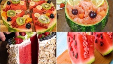4 idee sfiziose con l'anguria: perfette per l'estate!