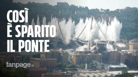 Demolizione Ponte Morandi: ecco tutte le fasi dalla evacuazione all'esplosione della dinamite