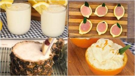 4 ricette per dei sorbetti semplici e veloci da preparare a casa!