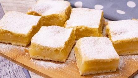 Torta cremosa al limone: ogni morso vi lascerà senza parole!