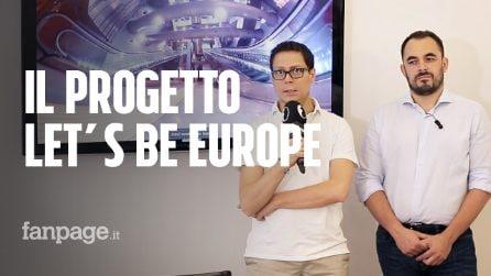 Conferenza stampa conclusiva di 'Let's Be Europe', il format di Fanpage.it in partnership con la Commissione Europea