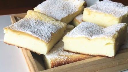 Quadrotti ricotta, limone e limoncello: una delizia che si scioglie in bocca