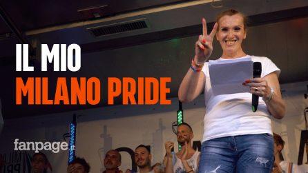 """Il Pride di Milano con gli occhi di Antonia: """"Non ci devono essere cittadini di serie B"""""""