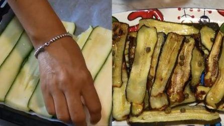 Zucchine al forno: la ricetta leggera e saporita per averle sempre pronte
