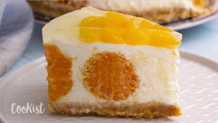 Tangerine cheesecake: a very fresh cake, perfect for a hot summer day!