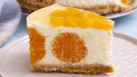 Cheesecake al mandarino: fresca e saporita, perfetta per ogni occasione!
