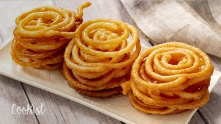 Jalebi: the recipe to make them at home!
