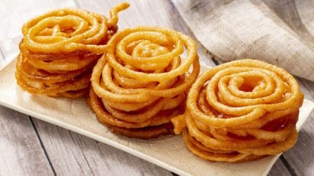 Jalebi: la ricetta indiana buona e saporita!